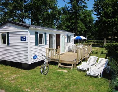 Three bed 'Concorde' Mobile Home with decking