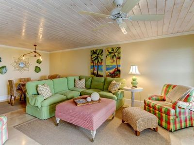 Photo for Ocean Front Condo, Newly Updated and Tastefully Decorated!