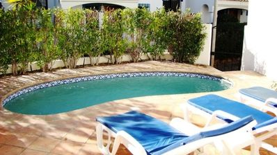 Photo for Two bedroom  townhouse with pool Dunas Dourdas F207