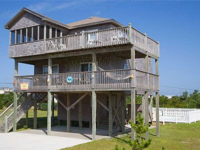 Photo for Oceanview w/ Short Walk to Beach! Pool, Hot Tub, Outdoor Games for Whole Family!