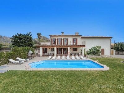 Photo for 6 bedroom Villa, sleeps 12 in Port de Pollença with Pool, Air Con and WiFi