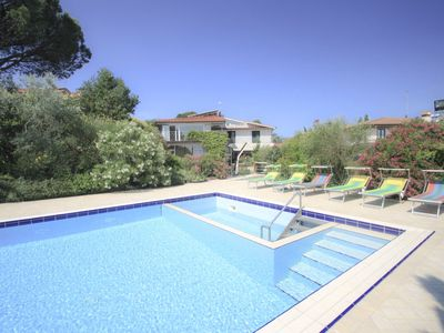Photo for 8 bedroom Villa, sleeps 17 with Pool, Air Con, FREE WiFi and Walk to Shops