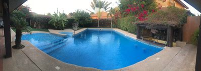 Photo for Beautiful luxury villa in secure residence in the center of Saly