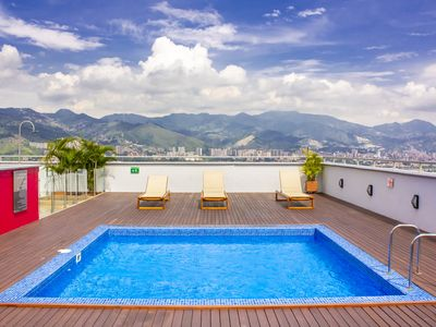 Photo for Unique Duplex In Perfect Location w/ Rooftop Pool