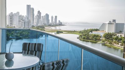Photo for Lake Luxury Beach Front Condo