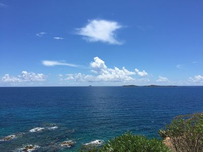 View from balcony- the best in the Caribbean!
