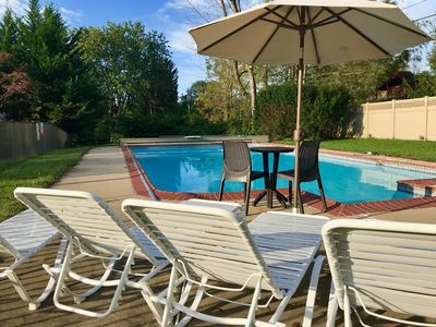 Centrally located with in-ground pool.