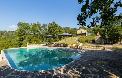 Wonderful villa with swimming pool surrounded by greenery, shelter for body  and soul! - Umbertide