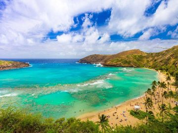 Niu Beach, Honolulu, Hawaii, United States of America