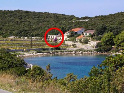 Photo for House in Parja (Vis), capacity 2+0