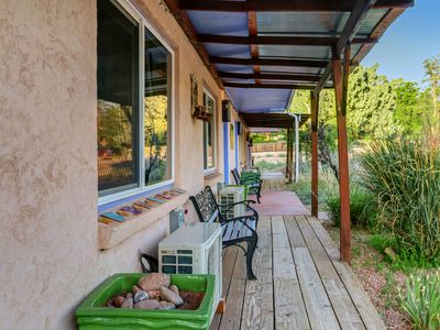 Photo for Cute & cozy rental near Arches & Canyonlands w/ shared hot tub and yard!