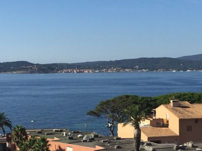 Photo for Luxury apartment with beautiful view on Saint Tropez Gulf
