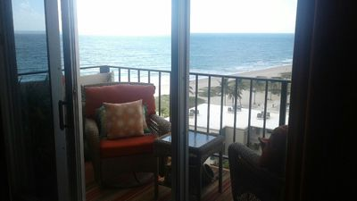 Photo for Ocean View Condo On One Of The Most Sought After Beaches In Florida