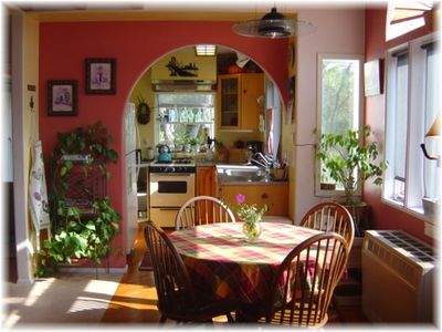 ~ The Dining area, and Kitchen