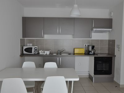 Photo for Apartment for 2 with balcony 20 minutes from the beaches