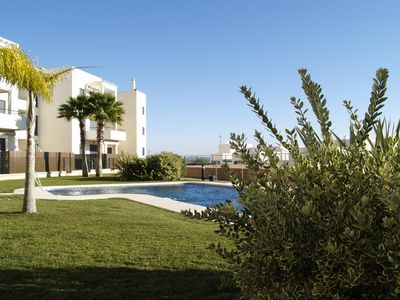 Photo for Casa Alba - Comfortable townhouse with fantastic views from the roof terrace and communal pool