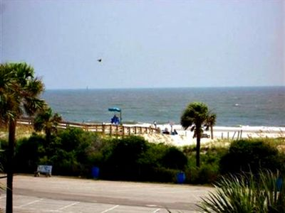 Photo for South Beach! Short walk to pier!3 b.r. & sleeper! Covered private parking. Pools