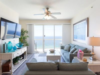 Photo for Luxurious Beachfront Penthouse, King Beds, Sleeps 8