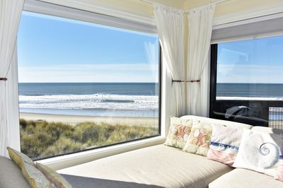 Picture Window - Read a book or watch the ocean wave.