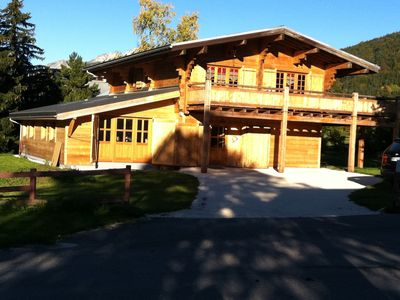 Photo for Luxury chalet, relaxation and pleasure for an unforgettable stay