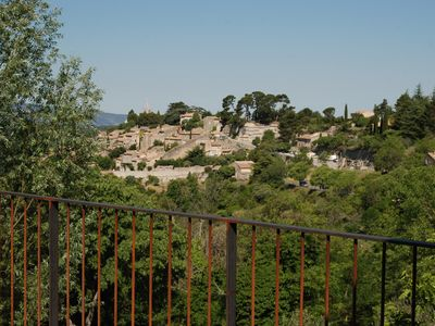 Photo for House in entrance of vilage with view on Bonnieux