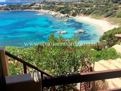 Photo for Sardinia, Villasimius, water front VILLETTA with an amazing view over the exclusive Cala Caterina bay