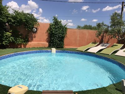 Photo for Seasonal rental with pool 4 *