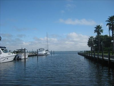 Photo for Amazing Water Front Condo Longboat Key few miles to Armand's Circle 1 mo. min