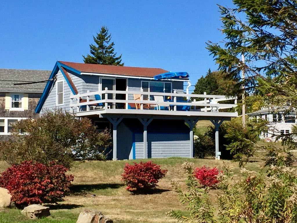 Classic Maine Cottage W Expansive Easterly Homeaway