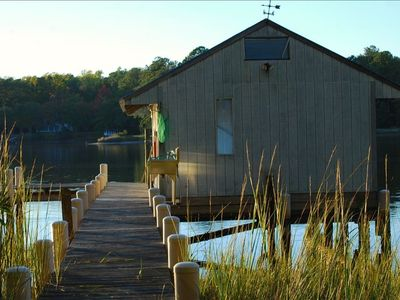 Private Dock and Boathouse