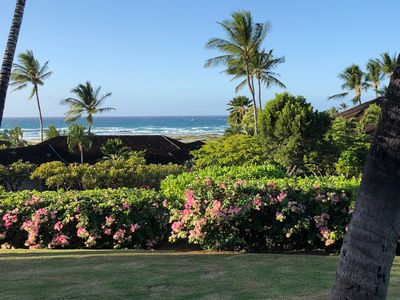 Photo for Hualalai Resort: Ground Level Villa by the Ocean