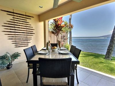 Photo for Private Oceanfront Retreat in Puamana 5 STAR