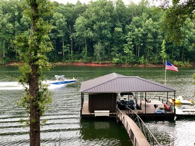 Photo for Beautiful Executive waterfront Home on Lake Hartwell.  With Dock!
