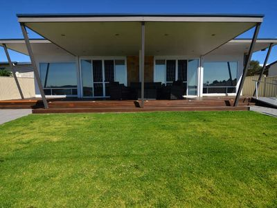 Photo for Beachview is in the perfect location - luxury property, single level with great views of the bay
