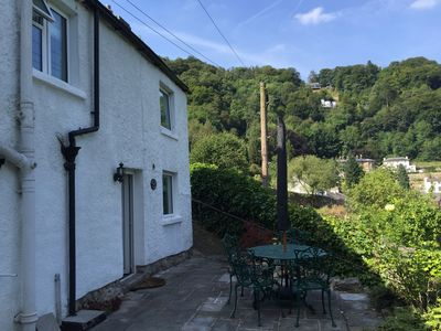 Photo for Converted lead miners cottage overlooking Matlock Bath
