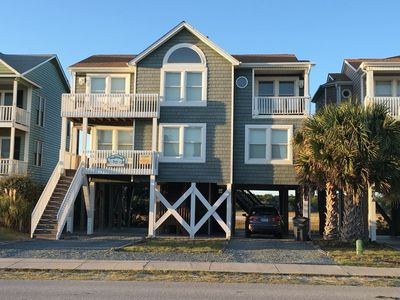 """Photo for NEW to the PROACTIVE Vacations rental market, welcome to """"Wright Relaxin'"""".  This beautiful home offers spectacular marsh & ocean views, plenty of room for relaxing & entertaining, and is just a short walk to the beach!"""