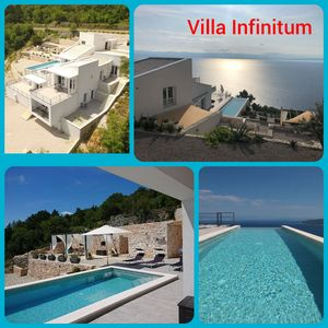 Photo for LAST MINUTE; Villa Infinitum: sea view & infinity pool, wifi, top equipped