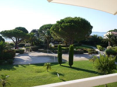 Photo for Right on the sandy beach! Fantastic botanical garden with sea views