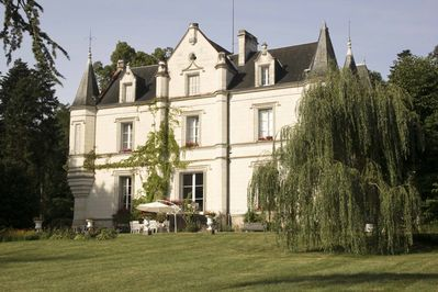 Front View from the lawn