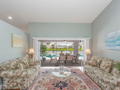 Photo for Lakefront family home w/private pool & unheated spa - shared amenity access.