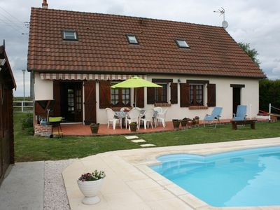 Photo for Solognote house in the heart of the Loire châteaux with indoor pool.