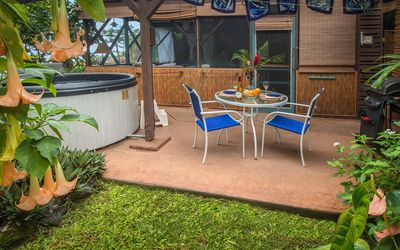 Photo for Charming Tropical Hideaway, Best Snorkeling,  Pool, Hot Tub