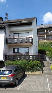 Photo for Beautiful spacious apartment at 9km center Winterberg, beautiful view over mountains