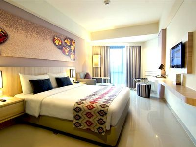 Photo for 1BR Exec Apart'Hotel, Incl B'fast in Kuta Beach