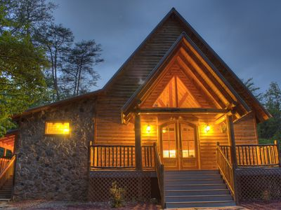 Photo for Couple's/ Honeymoon Cabin near Helen GA!