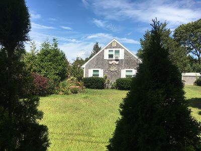Photo for Quiet duplex house by the beach, walking distance to Falmouth Village
