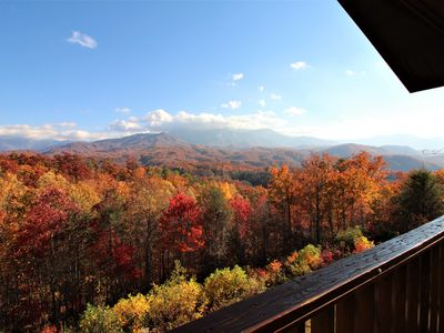 Photo for Best View Of GSMNP And Mt. Leconte/Near Downtown Gatlinburg/ Hot Tub/Private