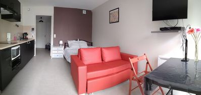 Photo for Beautiful studio 28 m2 equipped nine 500 meters from the subway