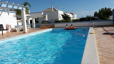 Photo for Luxury House with Large Shared Swimming Pool, Large Outdoor Private Space