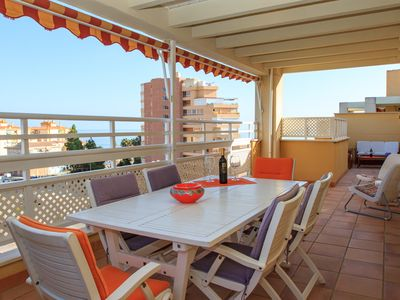 Photo for 372 Penthouse Ana - Apartment for 8 people in Algarrobo